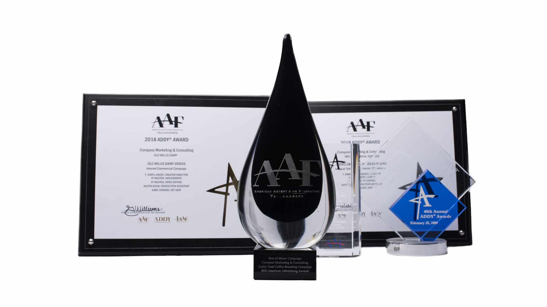 AAF Awards for Compass Marketing